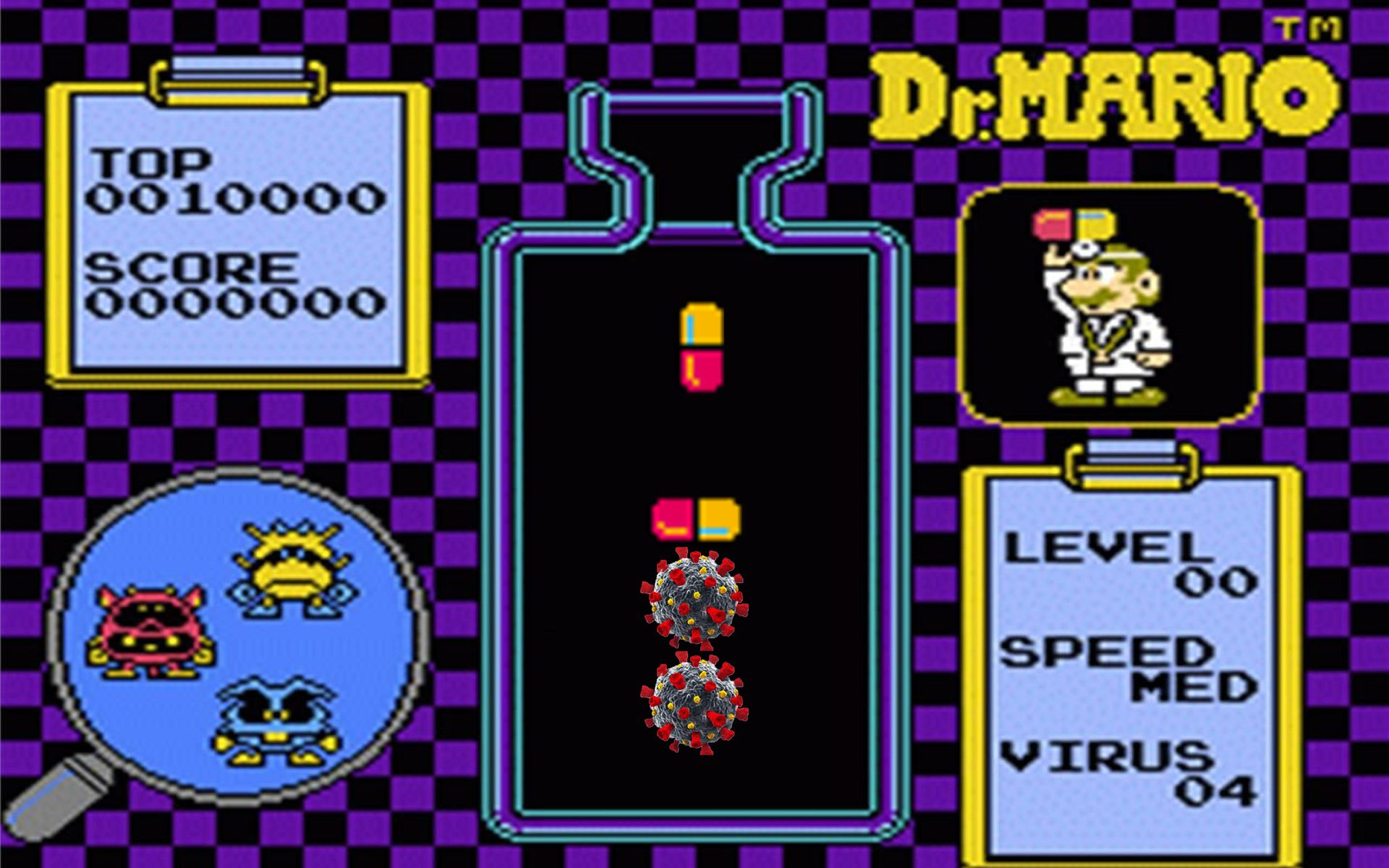 BREAKING: Dr. Mario Finds Red-Yellow Pill Cures COVID-19