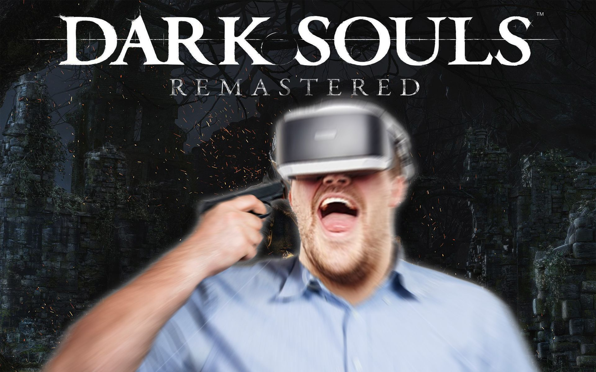 Sony Reveals Dark Souls VR Mode Where You Just Fucking Die For Real