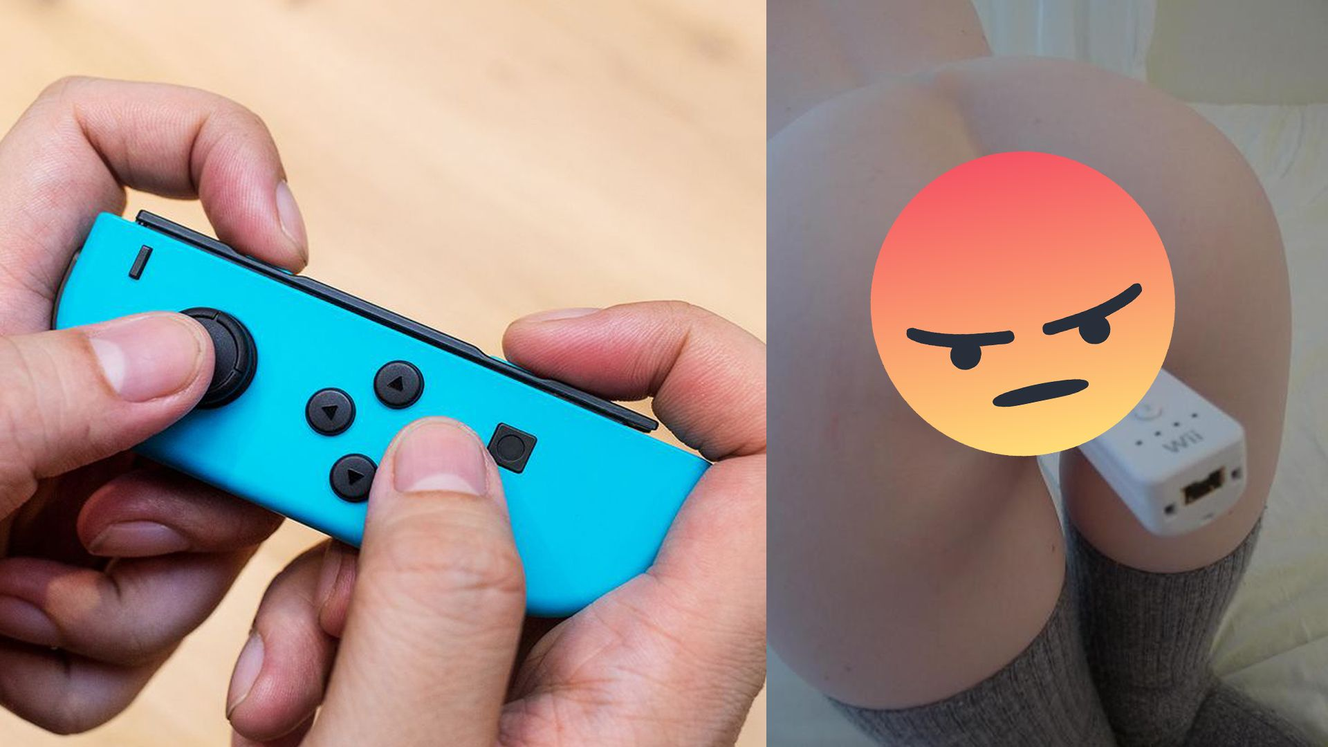 These Joy-Cons Small As Fuck And Probably Won't Make Good Sex Toys
