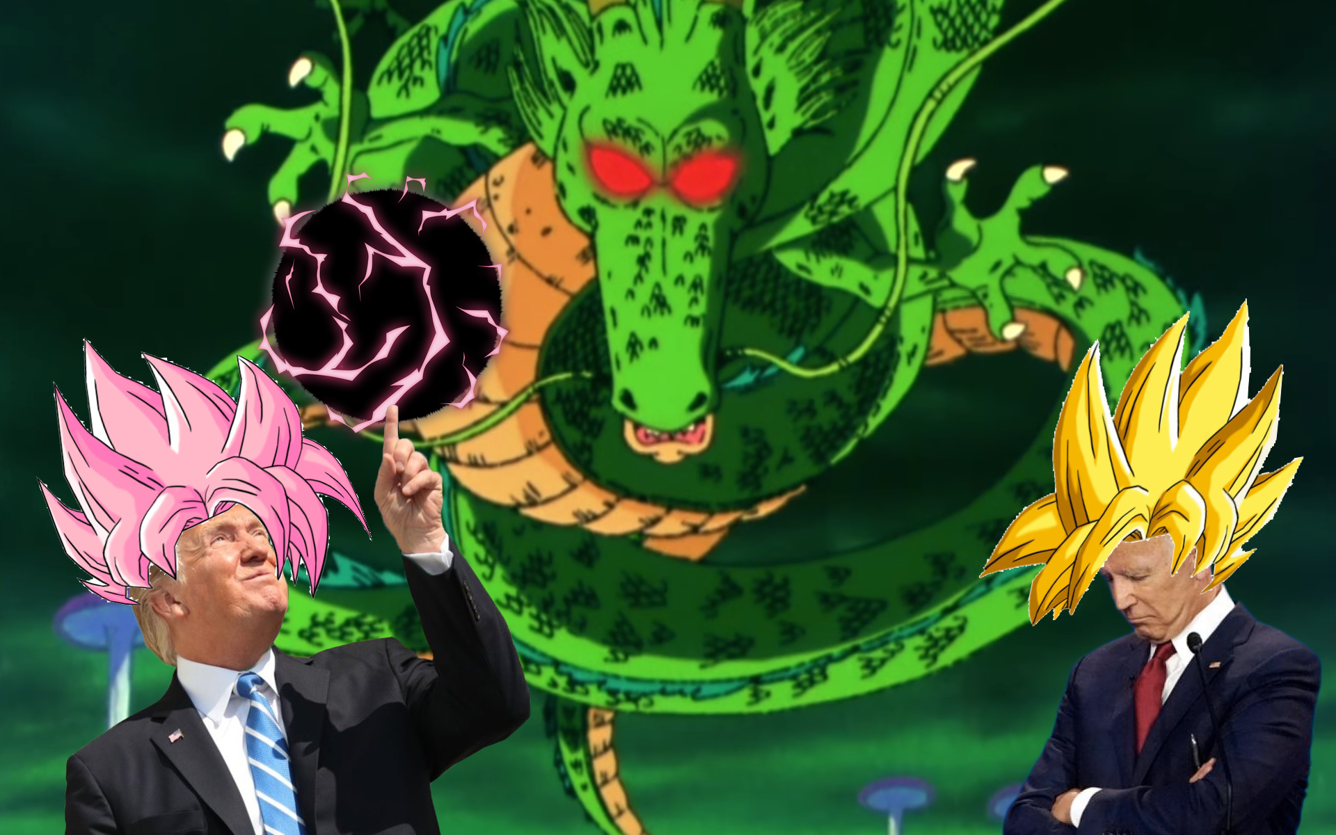 "Shenron: ""Dragon Balls Do Not Have Power To Impeach Trump"""