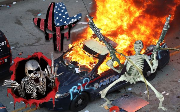 REPORT: Rioting And Shooting Protestors Is Metal As Fuck