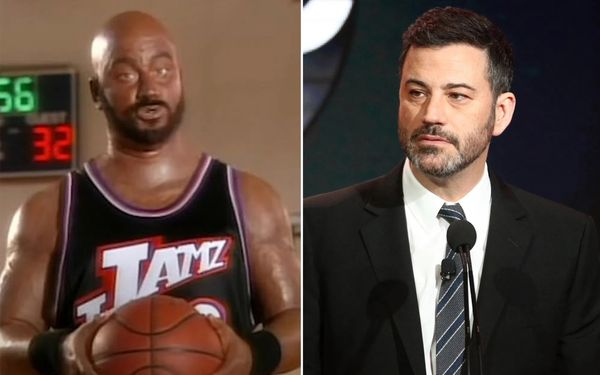 BLM Tear Down Jimmy Kimmel Statues Not Because He Did Blackface But Just Because He's Not Funny