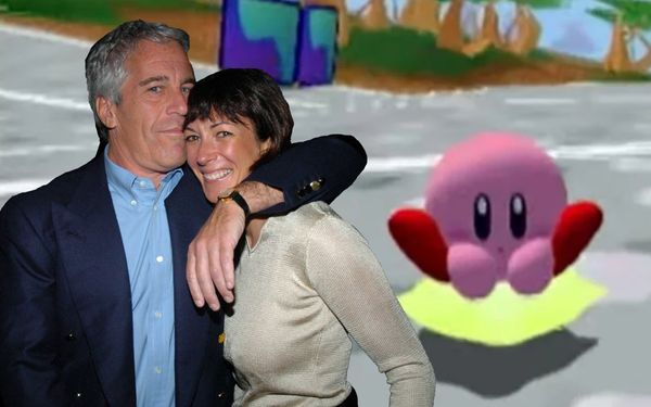 "Ghislaine Maxwell: ""The 1% Get High And Play Kirby Air Ride All Day"""