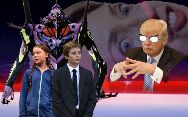 Barron Trump Chosen To Pilot Experimental Mecha To Fight Alien Menace