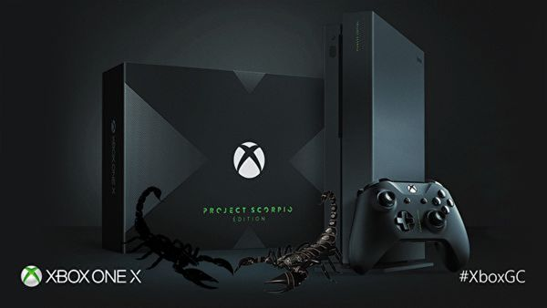Xbox One X: Scorpio Edition Unveiled, Will Include Live Scorpions