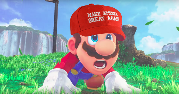 Nintendo Strips Mario's Plumber Title To Fight Back The Alt-Right