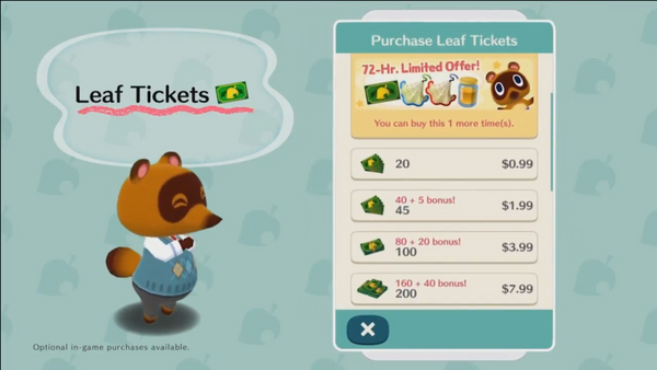 Newly Annouced Animal Crossing Mobile Game Has Fans Concerned Over Microtransactions