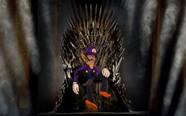 Game of Thrones Author George R. R. Martin Says Waluigi Was Always Meant To Sit On The Iron Throne