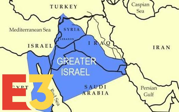 Leaked E3 Document Shows Next-Gen Greater Israel With 100% Less Palestinians