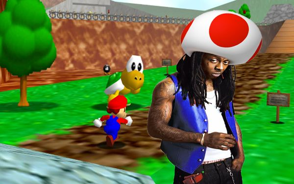 Lil Wayne To Play Toad In Upcoming Super Mario 64 HD Remake