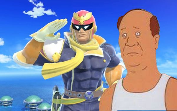 Nintendo: Captain Falcon Is Bill From King Of The Hill, No New Game Coming
